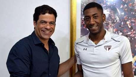 Gonzalo Carneiro chegou ao São Paulo em abril de 2018