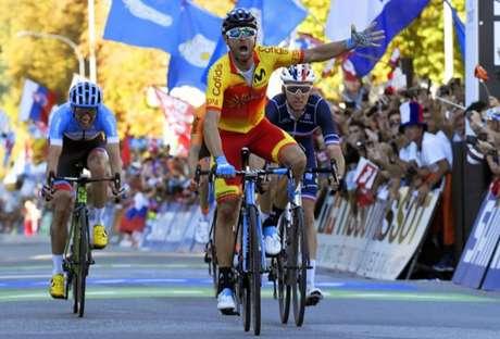 Alejandro Valverde venceu quatro das últimas edições, e foi vice em 2018 (Foto: Reprodução/Twitter)