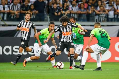 O Galo foi punido em R$ 20 mil reais pela quinta vez seguida nesta edição da Libertadores- Bruno Cantini/Atlético MG