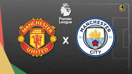 United e City fazem duelo que pode definir os rumos da Premier League nesta quarta-feira (Arte/L!)