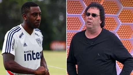 Carneiro foi defendido por Casagrande em caso de doping social (Foto: Reprodução)