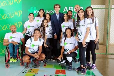 """Emanuel no evento """"Jogo Limpo"""" da Secretaria Especial de Esporte (Foto: Francisco Medeiros/Ministério da Cidadania)"""