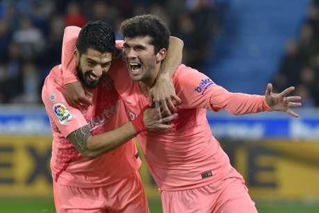 Barcelona derrota o Alavés e pode ser campeão espanhol nesta rodada (Foto: ANDER GILLENEA / AFP)