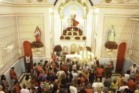 Em 23 de abril de 2019, Igreja de São Jorge, na cidade de Niterói, celebra o dia de São Jorge.