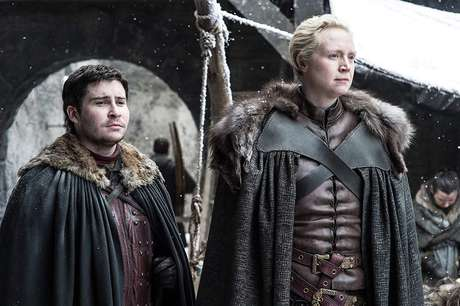 Gwendoline Christie e Daniel Portman em 'Game of Thrones' (2011)