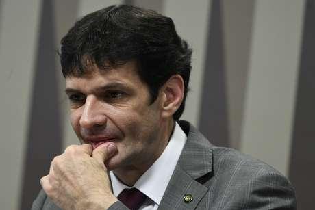 O ministro do Turismo, Marcelo Álvaro Antônio, participa de audiência pública da Comissão de Desenvolvimento Regional e Turismo (CDR) do Senado, em Brasília.
