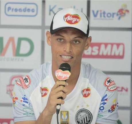 Lázaro é o novo reforço do Operário-PR (Foto: Divulgação)