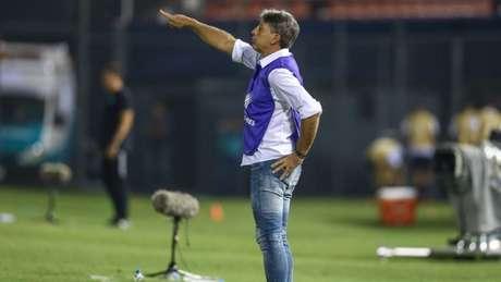 Renato Gaúcho classificou a atuação do Grêmio como brilhante (Foto: LUCAS UEBEL/GREMIO FBPA)