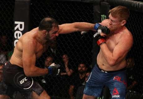 Vindo de vitória no UFC, Rogério Minotouro vem em preparação para lutar no UFC 237 (Foto: Getty Images)