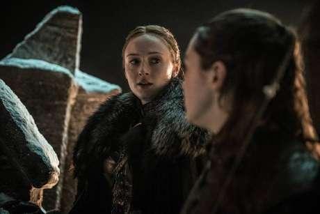 Sansa (Sophie Turner) em trecho do terceiro episódio da última temporada de 'Game of Thrones'