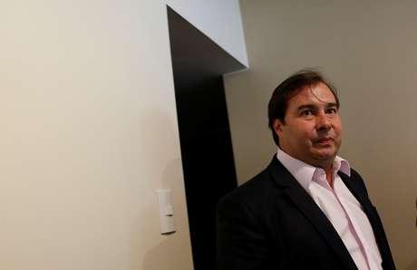 Presidente da Câmara, Rodrigo Maia 16/02/2018 REUTERS/Adriano Machado