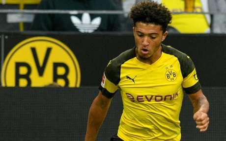 Sancho é uma das principais armas da boa campanha do Borussia Dortmund na temporada (AFP)