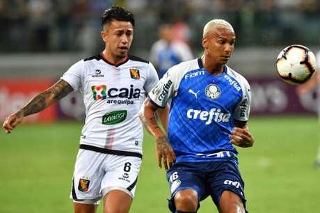 Após duelo no Allianz Parque, Palmeiras e Melgar voltam a se enfrentar agora no Peru (Nelson Almeida / AFP)