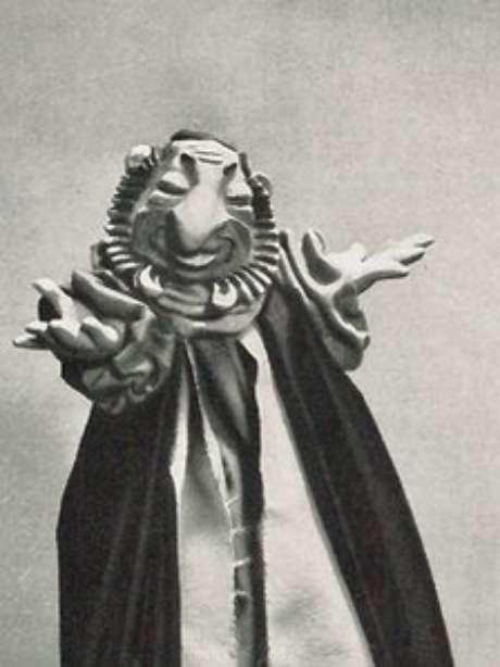 O 'fantoche judeu' era utilizada em apresentações de propaganda para organizações partidárias nazistas