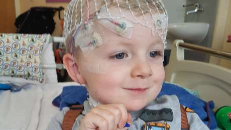 Charlie spent the first two years of his life at the hospital, while doctors tried to find out what was wrong with him