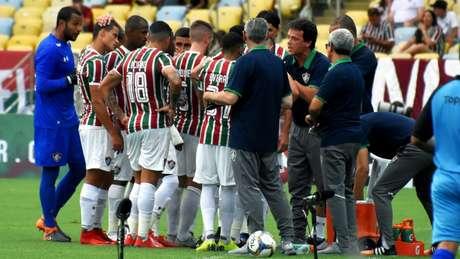 Flu busca 'voar alto' em 2019 e confiando em Ganso e Diniz (Foto: Lucas Merçon/Fluminense FC)