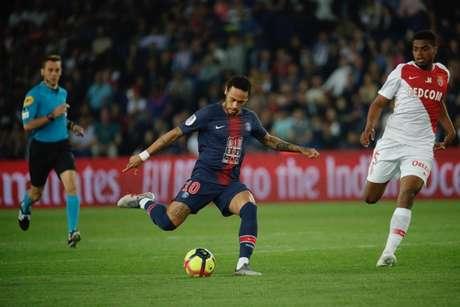 Neymar voltou à campo no último final de semana na partida contra o Monaco (Divulgação)