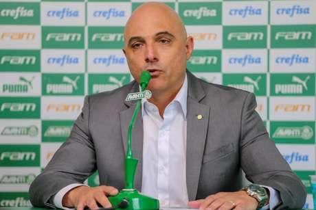 Presidente do Palmeiras, Mauricio Galiotte
