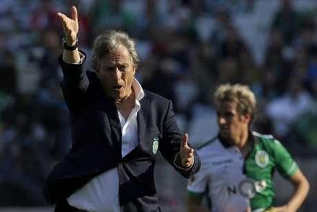 Jorge Jesus tem carreira sólida na Europa e interessa a dois clubes brasileiros- (Foto: JOSE MANUEL RIBEIRO / AFP)
