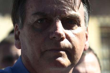 O presidente da República, Jair Bolsonaro (PSL), acompanhado da primeira-dama, Michelle Bolsonaro, realiza visita à residência da menina Yasmin Alves, de oito anos na Cidade Satélite Estrutural, uma das regiões mais carentes do Distrito Federal