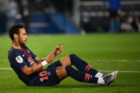 Neymar já havia sido punido pela Uefa no início da semana por insultos à arbitragem na Champions League (AFP)
