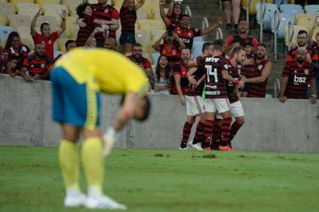 Flamengo venceu de virada no Maracanã (Foto: Alexandre Vidal / Flamengo)