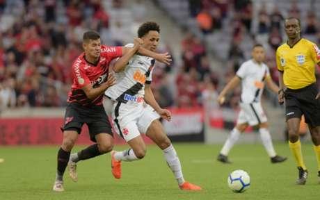 Athletico-PR x Vasco: confira as imagens da partida