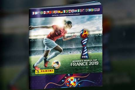 O álbum da Copa do Mundo feminina sofreu graves ataques nas redes sociais (Foto: Divulgação/Panini)