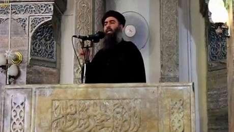 A última aparição pública de al-Baghdadi foi em Mossul, em 2014