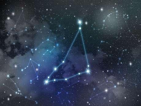 Estrela de Capricórnio constelação do Zodíaco