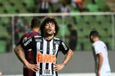 Luan , jogador do Atletico-MG, partida válida pela 1º rodada do Campeonato Brasileiro 2019, no estádio do Independencia, em Belo Horizonte