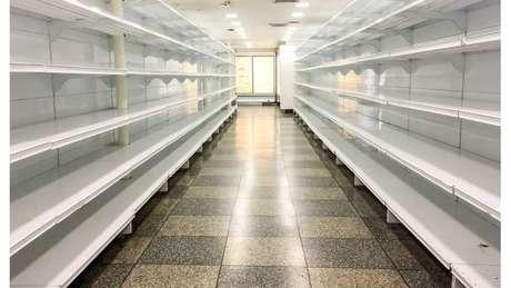 Com alta dependência de importações, a Venezuela vive um grande desabastecimento