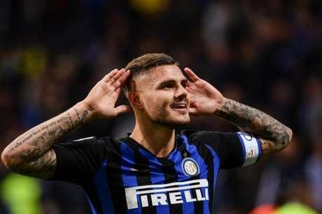 Icardi tem sido pivô de algumas polêmicas nos últimos meses na Inter (Marco BERTORELLO/AFP)