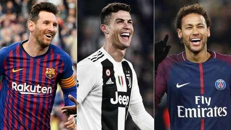 Barça, Juve e PSG já são campeões (Foto: AFP)