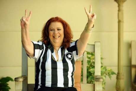 Beth Carvalho cantou sua paixão pelo Botafogo em sua obra (Divulgação Botafogo)