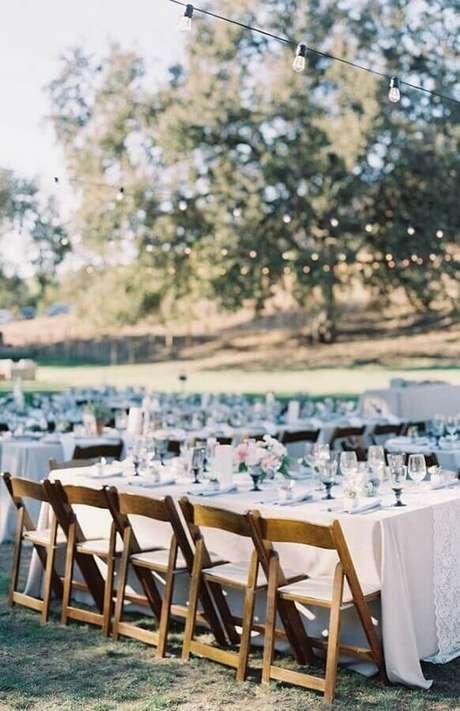 53. Decoração para festa de casamento ao ar livre – Foto: Style me Pretty