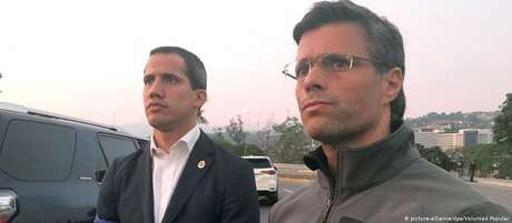 Depois de ser solto, Leopoldo López apoiou Guaidó na tentativa de levante militar contra Maduro