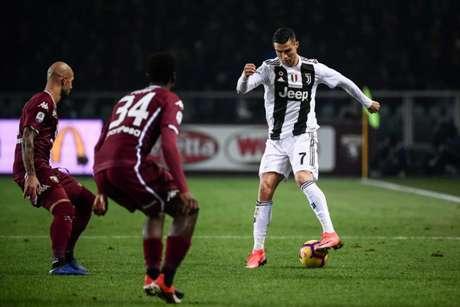 Juve e Torino é conhecido como o 'Derby della Mole' (Foto: AFP)
