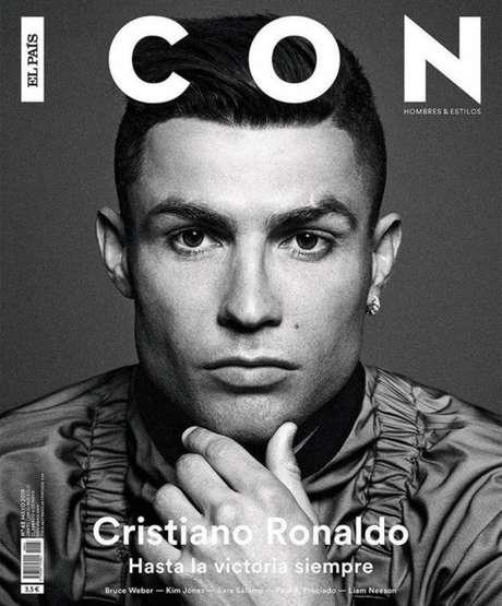 Português foi capa da revista espanhola (Foto: Reprodução)