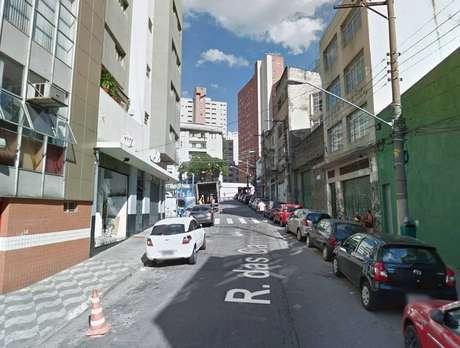 Incêndio ocorreu na Rua Carmelitas, no bairro da Sé