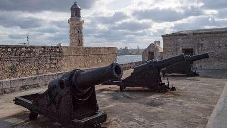 A fortaleza La Cabaña foi usada como prisão para o governo de Fidel Castro no início da Revolução