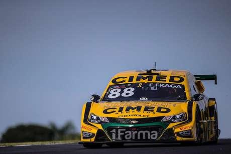 Felipe Fraga coloca Cimed Racing na 2ª fila do grid no Velo Città