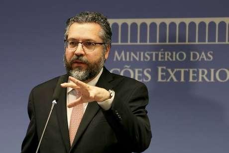 Ernesto Araújo, ministro de Relações Exteriores