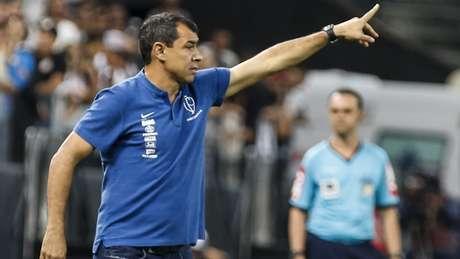 Carille diz que Timão deve mostrar futebol melhor apenas após Copa América (Foto: Rodrigo Gazzanel/RM Sports)