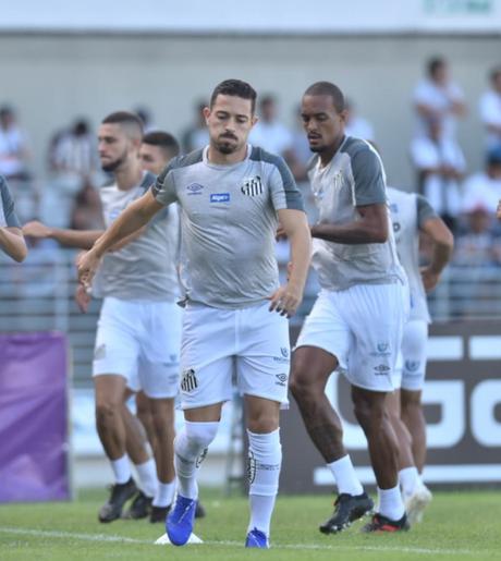 Jean Mota disputou somente 30 minutos no empate em 0 a 0 contra o CSA (Ivan Storti/Santos FC)