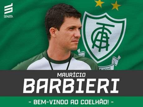 Babieri assume o Coelho no lugar de Givanildo Oliveira, demitido na última semana e ficará até o fim de 2019- Divulgação/América-MG