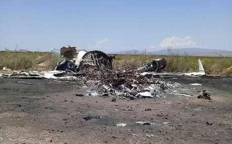 Avião fazia trajeto entre Las Vegas e Monterrey quando sofreu acidente