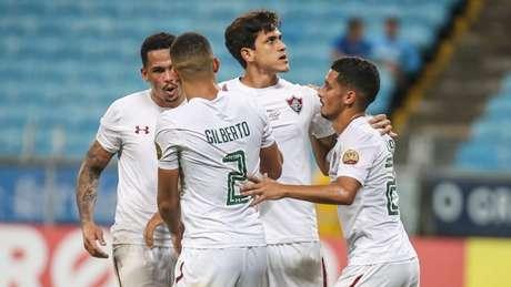 Fluminense derrotou o Grêmio após estar perdendo por 3 a 0 (Foto: LUCAS MERÇON / FLUMINENSE F.C.)