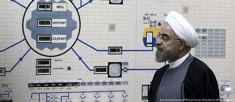 Rohani disse que o Irãquer negociar novos termos e que a intenção é salvar o acordo