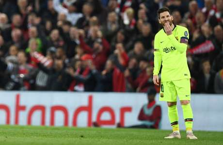 Messi sentiu bastante a derrota (Foto: AFP)